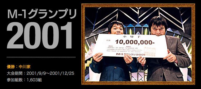M-1グランプリ2001 王者:中川家